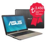 Asus X541UJ-GO055 kampanyalı notebook bilgisayar