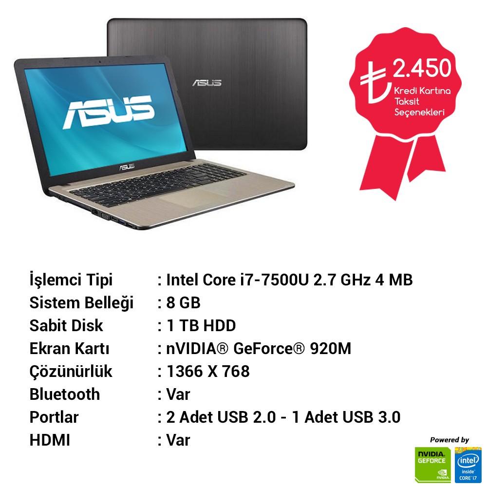 Asus X541UJ-GO055 laptop