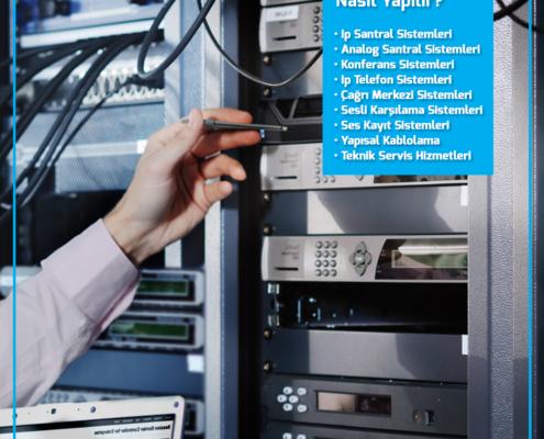 Telefon santrali nasıl kurulur?