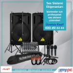 Ses sistemi bileşenleri nelerdir? Bir ses sisteminde hangi ekipmanlar bulunur?