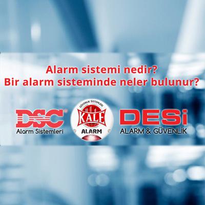 Alarm sistemi ekipmanları nelerdir? Nerelerde kullanılır?