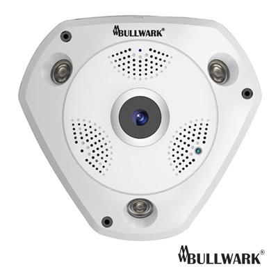 bullwark 1.3 mp fisheye ip kamera