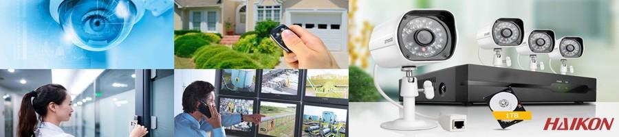 güvenlik kamera ve alarm sistemi