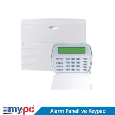 alarm paneli ve keypad