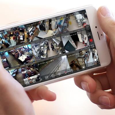cep telefonu tablet güvenlik kamera izleme