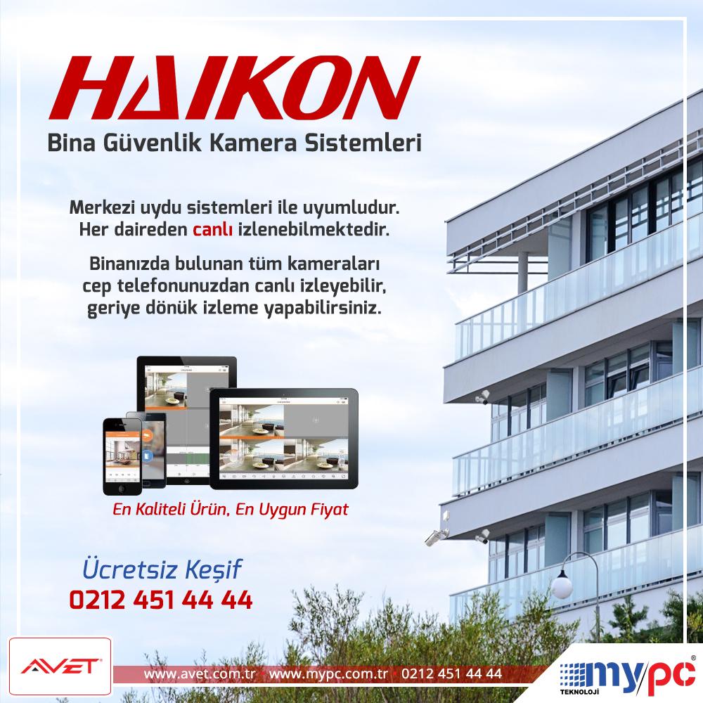 bina site güvenlik kamera sistemleri