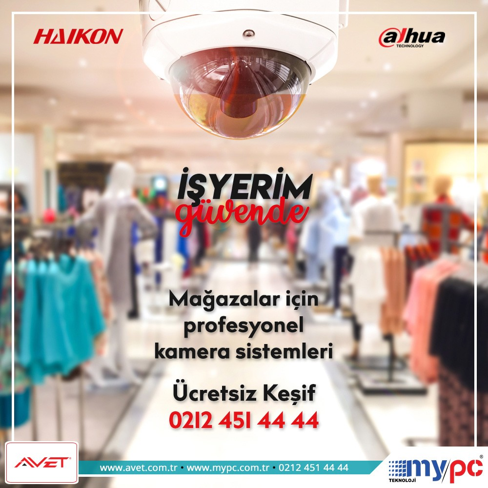 mağaza kamera sistemi