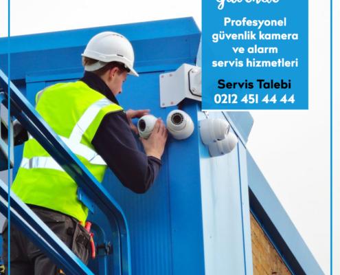 Güvenlik Kamera ve Alarm Servis Hizmetleri