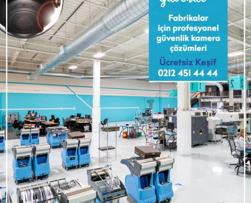 Fabrika Güvenlik Kamera Sistemi