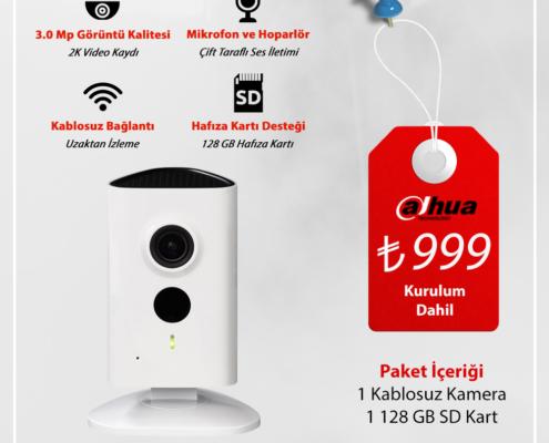 Kablosuz Güvenlik Kamera Sistemi