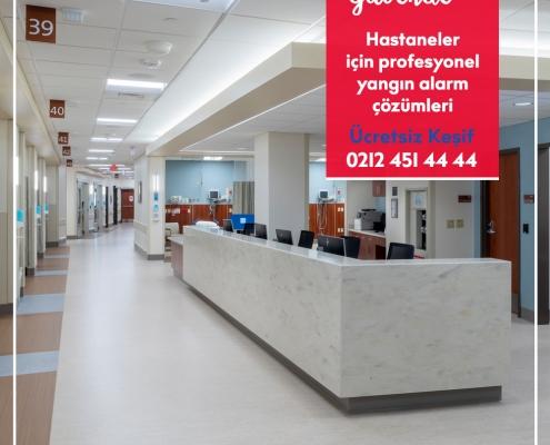 Hastane yangın alarm sistemleri nasıl olmalıdır?