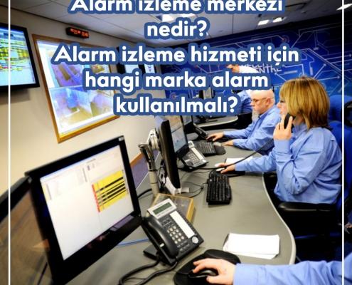 Alarm izleme merkezi nedir?