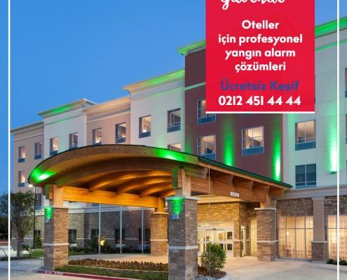 Otel yangın alarm sistemleri nasıl olmalıdır?