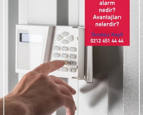 Kablosuz alarm nedir? Avantajları nelerdir?