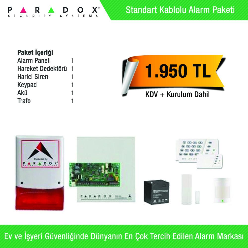Paradox Standart Alarm Paketi